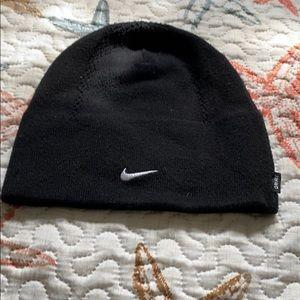 Nike DriFit Black Beanie Hat